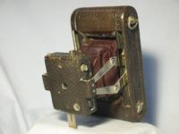 ' NO.0 Folding Pocket Model A-B -RARE- ' Kodak No.0 Pocket Model A-B Camera RED Bellows £149.99